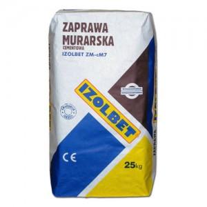 Zaprawa murarska cementowa {Izolbet ZM-cM7 25 kg}