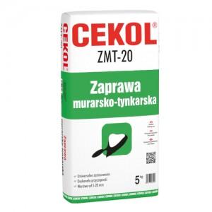 Zaprawa murarsko-tynkarska {Cekol ZMT-20 5kg}