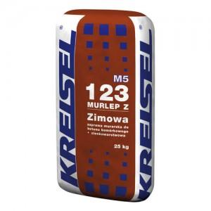 Zimowa zaprawa murarska do bloczków {Kreisel MURLEP-Z 123 25 kg}